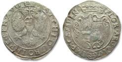 World Coins - Netherlands - Overijssel, city of Kampen/Campen, silver florin of 28 stuiver, no date (1665-1672)