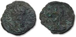 Ancient Coins - AE antoninianus Postumus, Trier 260-269 A.D. -- MONETA AVG --