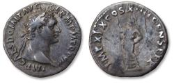 Ancient Coins - AR denarius Domitian / Domitianus. Rome 88-89 A.D. - IMP XIX COS IIII CENS P P P -