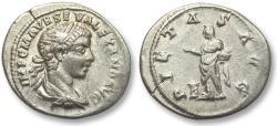 Ancient Coins - AR denarius Severus Alexander, Antioch mint 223 A.D. - PIETAS AVG -