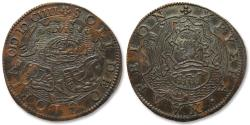 World Coins - AE jeton 1604 Spanish Netherlands: on the capitulation of Ostend (end of 3 year siege)