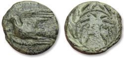 Ancient Coins - AE dichalkon Sikyonia, Sikyon 330-305 B.C. -- Ex CNG & Ex BCD collection --