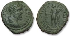 Ancient Coins - AE 18 (assarion) Septimius Severus, Moesia Inferior - Nikopolis ad Istrum 193-211 A.D -Hermes-