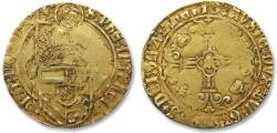 "Ancient Coins - AV/AU Dutch gold florin, Duchy of Brabant, Philip I ""The Fair"", Antwerp 1482-1506"