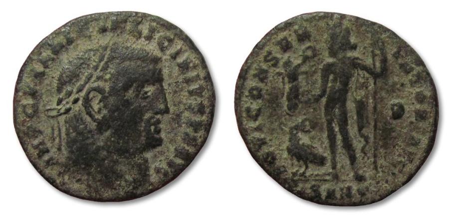 Ancient Coins - MO: AE22 Licinius, Heraclea 308-324 A.D.