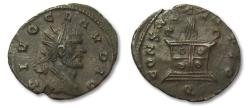 Ancient Coins - AE antoninianus DIVO Claudius II Gothicus, Siscia after 270 A.D. -- near mint state --