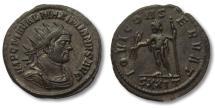Ancient Coins - MAXIMIANUS, AE Antoninianus 285 - 310 A.D. -- superb portrait --