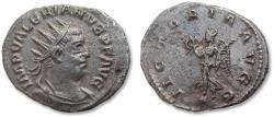 Ancient Coins - AR antoninianus Valerian / Valerianus I - typical eastern style portrait - Antiochia mint 257-259 A.D. - VICTORIA AVGG -