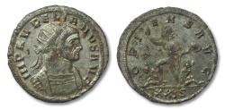Ancient Coins - AE silvered antoninianus, Aurelianus, 270-275 A.D.