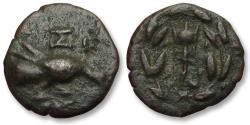 Ancient Coins - AE trichalkon Sikyonia, Sikyon 196-146 B.C.