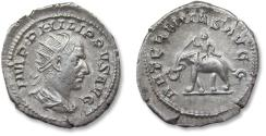 Ancient Coins - AR antoninianus, Philip I 'the Arab' - beautiful condition - Rome mint 247-249 A.D. - AETERNITAS AVGG -