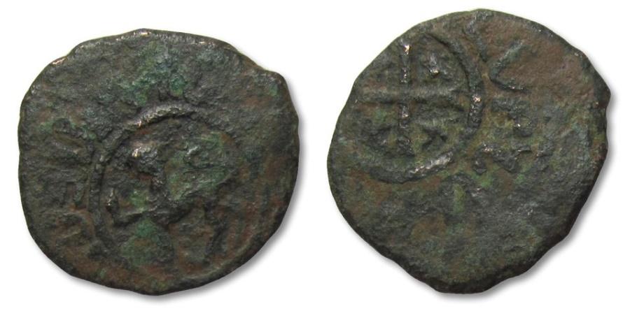 World Coins - MO: Kings of Armenia, Levon II Æ Kardez, Sis 1270-1289 A.D.