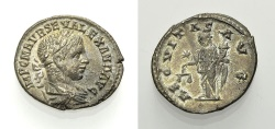 Ancient Coins - SEVERUS ALEXANDER, Denarius AEQVITAS AVG