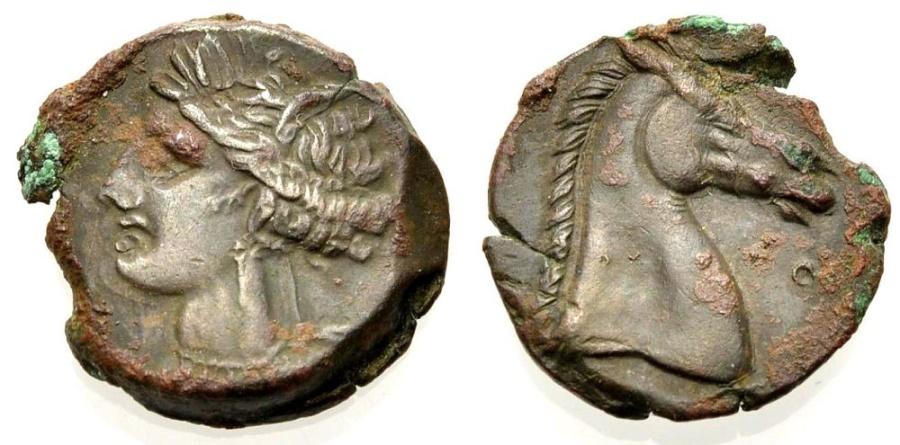 Ancient Coins - SICILY, Punic Mint