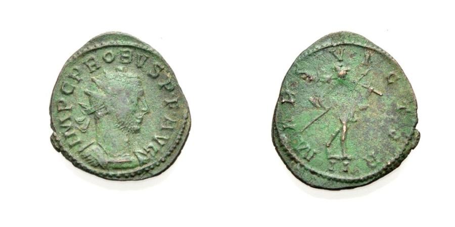 Ancient Coins - ROME, PROBUS,  MARS VICTOR, Lugdunum