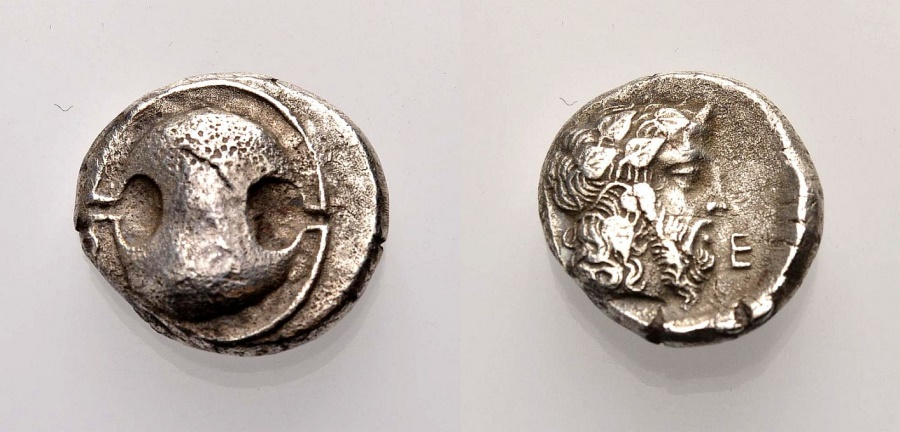 Ancient Coins - BOEOTIA, THEBAI, Stater