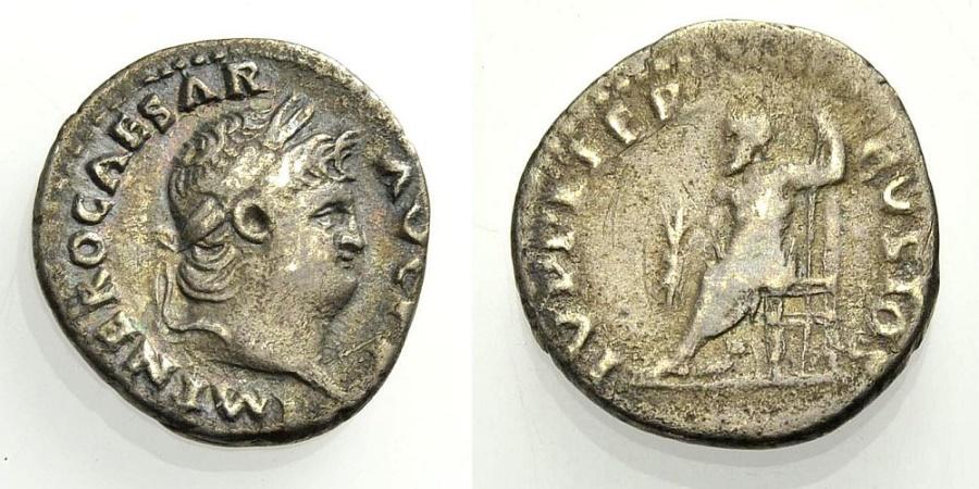 Ancient Coins - NERO, IVPPITER CVSTOS