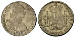 World Coins - MEXICO 8 Reales 1799