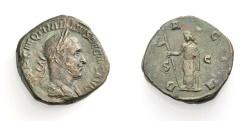 Ancient Coins - ROME, TRAIANUS DECIUS, Sestertius, DACIA