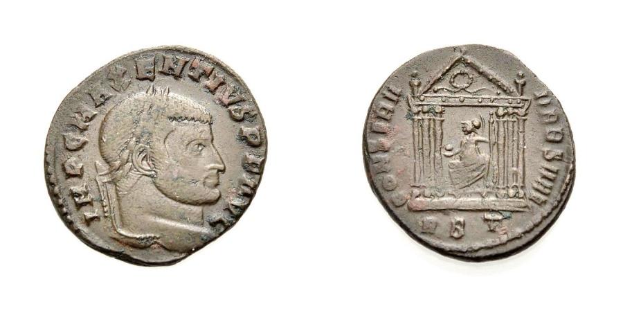 Ancient Coins - ROME, MAXENTIUS, CONSERV VRB, Rome