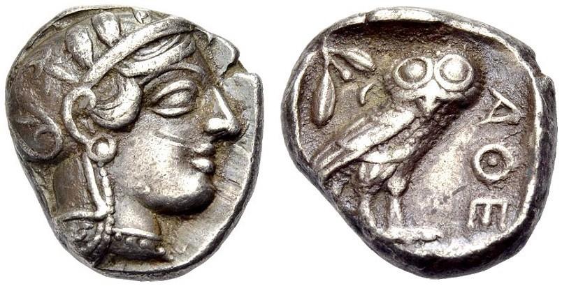 Ancient Coins - ATTIKA, ATHENS