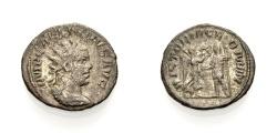 Ancient Coins - GALLIENUS, Antoninian, VICTORIA GERMAN
