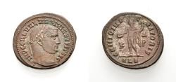 Ancient Coins - ROME, GALERIUS MAXIMIANUS, Nummus, Alexandria