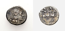 Ancient Coins - ROMAN REPUBLIC, M. Iunius Silanus