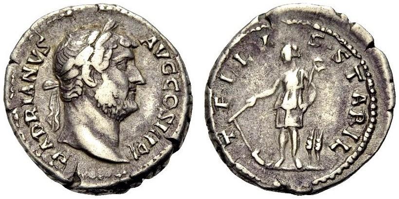 Ancient Coins - ROME, HADRIAN, Tellus stabilis