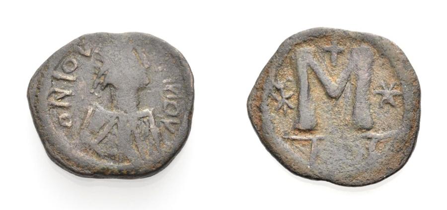 Ancient Coins - JUSTINIAN I., Follis