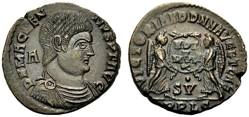 Ancient Coins - ROME, MAGNENTIUS, Maiorina, Lyon