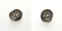 """Ancient Coins - CELTIC, """"MANCHING TYPE"""", Obol"""
