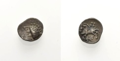 "Ancient Coins - CELTIC, ""MANCHING TYPE"", Obol"