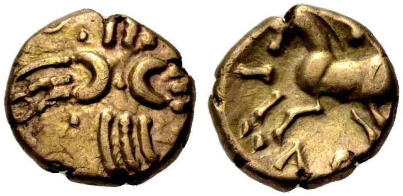 Ancient Coins - BRITISH CELTS, Trinovantes/Catuvellauni