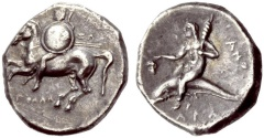 Ancient Coins - CALABRIA: TARENTUM, Nomos