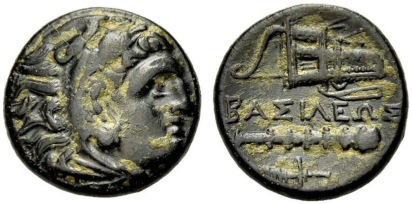 Ancient Coins - ALEXANDER THE GREAT, Bronze, W. Asia Minor