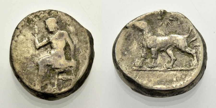 Ancient Coins - PERSIA Persian Satraps in Babylon