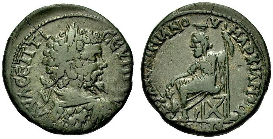 Ancient Coins - SEPTIMIUS SEVERUS, MOESIA, MARKIANOPOLIS