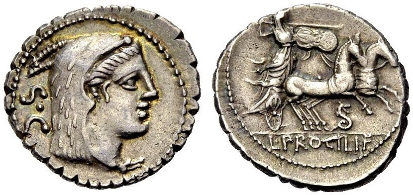 Ancient Coins - ROMAN REPUBLIC, Procilius