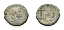 Ancient Coins - SAMARIA, CAESAREA MARITIMA, UNDER TRAJAN, AE