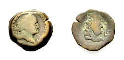 Ancient Coins - EGYPT UNDER ROME: ALEXANDRIA, VESPASIAN