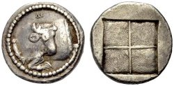 Ancient Coins - MACEDON, Akanthos