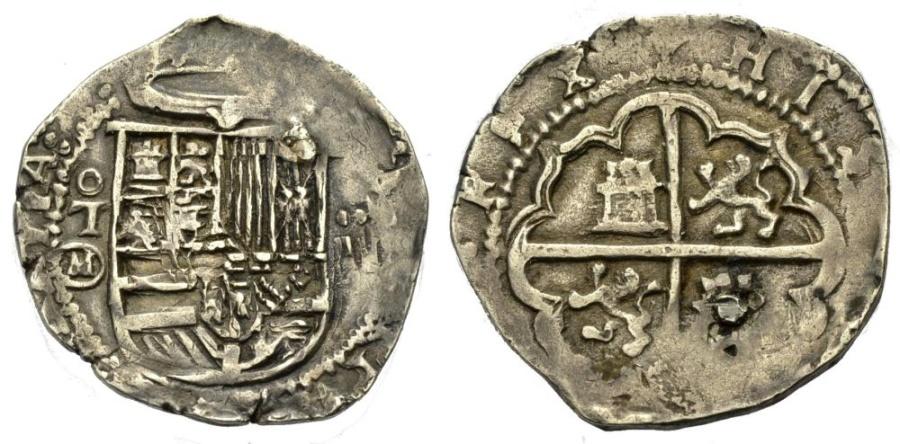World Coins - COB 2 Reales, Toledo