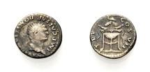 Ancient Coins - ROMAN IMPERIAL, DOMITIAN CAESAR, Denarius