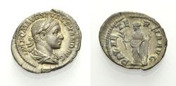 Ancient Coins - SEVERUS ALEXANDER, Denarius, PAX AETERNA