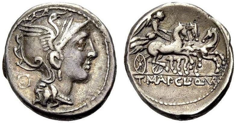 Ancient Coins - ROME, REPUBLIC, Ap. Claudius, T. Maloleius and Q. Urbinius