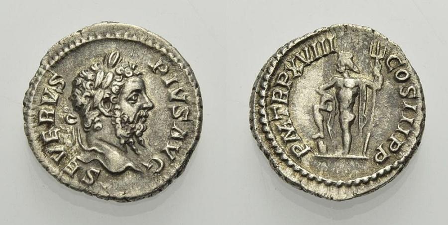 Ancient Coins - SEPTIMIUS SEVERUS, Denarius