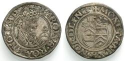 World Coins - NÖRDLINGEN, Halbbatzen 1527