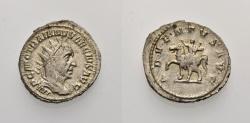 Ancient Coins - ROME, TRAJANUS DECIUS, Antoninian ADVENTVS AVG