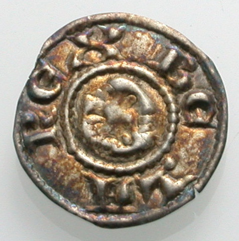 World Coins - HUNGARY, small bracteate